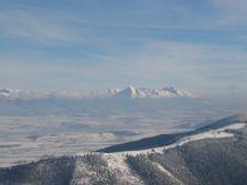 Maly Salatín smerom na Vysoke Tatry a Lubč. Maguru
