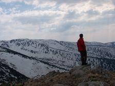 Spalena - hreben Nizkych Tiatier smerom na Magurku