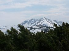 Hreben smerom na Spalenu a Chabenec
