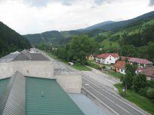 Ružomberok - Biely Potok - Kovostav, vstup do mesta od juhu po ceste E77 / 59