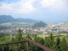 Ružomberok - centrum mesta (Skokanský mostík)