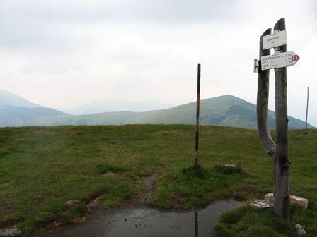 Latiborská hoľa - vrchol