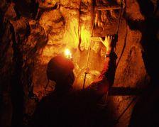 V Liskovskej jaskyni....