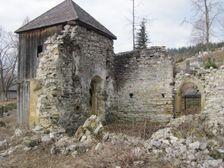 Zrúcanina kostola v Liptovskej Anne