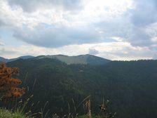 Veľká skala smerom na Malino Brdo (stanica lanovky)