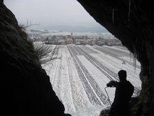 Liskova cave - december 2007