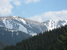 Poľana a Bôr od Pekelného v Krížskej doline