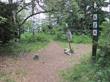 vrchol Hrbu - geograficky stred Slovenska