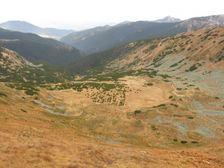 Krížska dolina od sedla pod Chabencom
