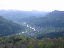 Havran - pohľad smerom na Stankovany a Šíp