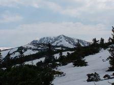 Hreben Rakytovej a Spalenej - smerom na Chabenec