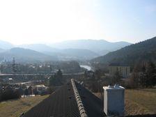 Ružomberok od Paračky (západ mesta)