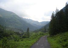 Žiarska dolina - po asfaltke na Žiarsku chatu