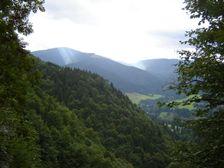 Brankovský vodopád - smerom na Smrekovicu