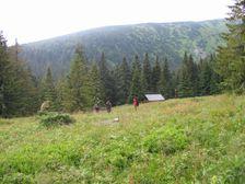 Salaš Kolibka pod Chabencom v Križskej doline