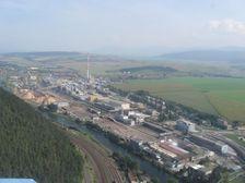 Mondy SCP od západu - letecký pohľad