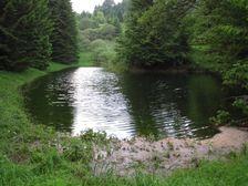 Prírodné jazero na Donovaloch