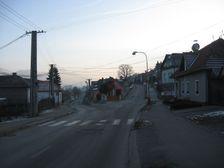 križovatka - ulica K.Sidora a Jelence