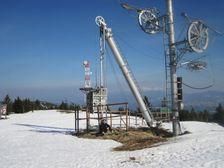Kubínska hoľa - vrcholová stanica