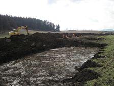 Výstavba diaľnice D1 - prípravné práce pri Liskovej