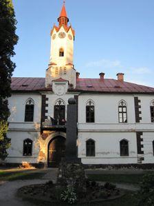 Stara banska budova v Lubietovej