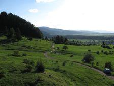 Lúky pri Lazisku smerom do Dúbravy