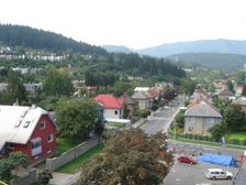 Makovického ulica smerom na Klačno