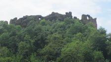 Filakovsky hrad od Filakova