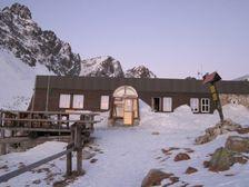 Zbojnicka chata v zime