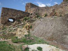 Filakovsky hrad - hradby