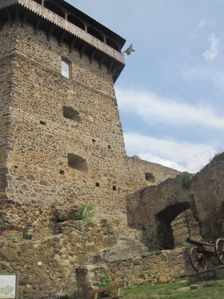 Filakovsky hrad - vstupna veza
