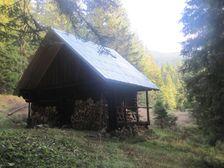 Polovnicka chata v Oruznej doline
