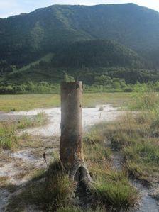 Travertinove polia v Stankovanoch