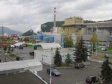 Benzinova pumpa OMW a fabrika