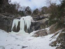 Ladopad vo vstupe do Klacanskej doliny