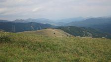 Bocny hreben Kriznej smerom do Revuc