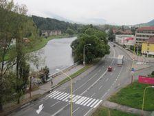 Zilinska ulica pri Priemyslovke