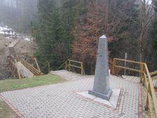 Trojbod statnej hranice PL-SR-CR na Polskej strane