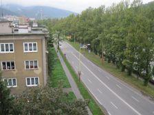 Zilinska ulica smerom na Zilinu