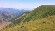 Hreben Velkeho Boku - vyhlad do Maluzinskej doliny