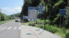 Štátna hranica pri Lysej nad Dunajcom