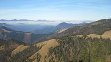 Jesenná inverzia na Skalnej Alpe - na Malu Fatru