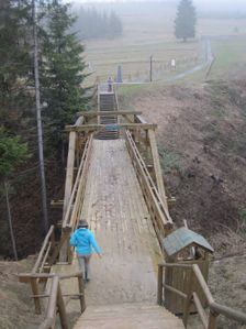 Most na trojbode statnej hranice PL-SR-CR