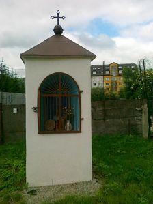Kaplnka na krizovatke Bottova-Janceka