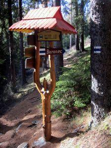 Turisticka odbocka na Barananec