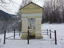 Kaplnka nedaleko Osrblia