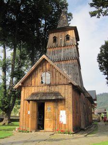 Dreveny kostol v Nizne Stromovce