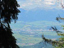 Klacianska dolina - na hrebeni - vyhlad na LM