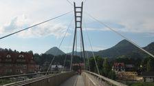 Most cez Dunajec do Polska