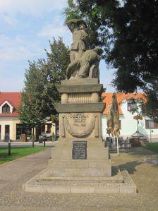 Skalica - pamatnik hrdinom prvej svetovej vojny